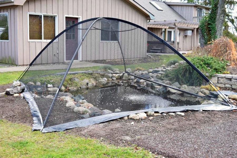 Deluxe Pond Cover Tent - 10' x 14'