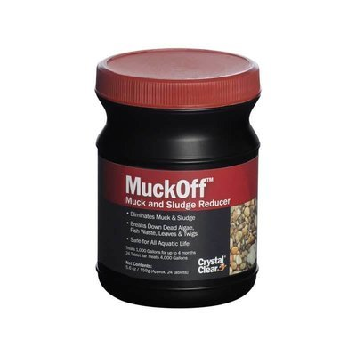 MuckOff - Muck & Sludge Reducer - 24 Tablets