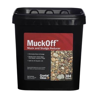 MuckOff - Muck & Sludge Reducer - 384 Tablets