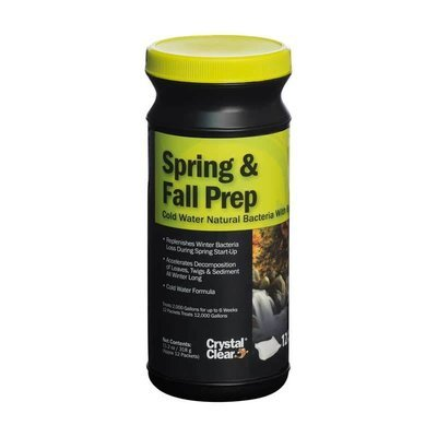 Crystal Clear Spring & Fall Prep - 12 Packets