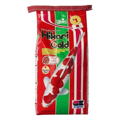 Hikari Gold Koi Food - 11 lb Med Pellet