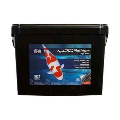 CystalClear Platinum Koi Food - 17.6 lb Standard Pellet