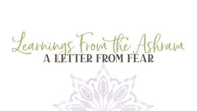 A Letter from Fear: Tuesday, February 25th