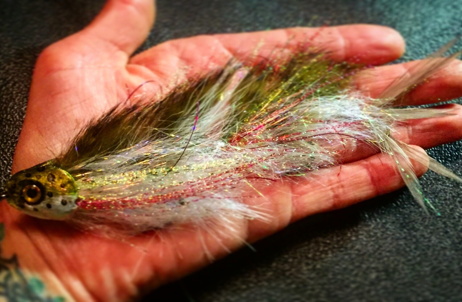 Juvenile Trout Articulated Streamer