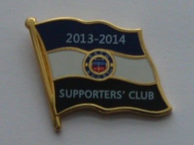 Bath Rugby Supporters' Club Historic Pin Badge - 2013-14