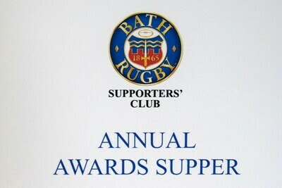 Annual Awards Supper 2019 - Priority Booking Window for BRSC Members