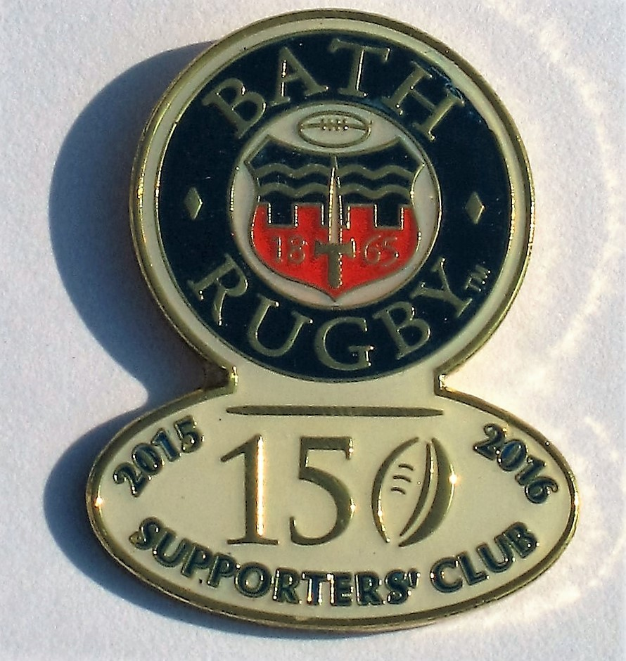 Bath Rugby Supporters' Club Pin Badge - 150th