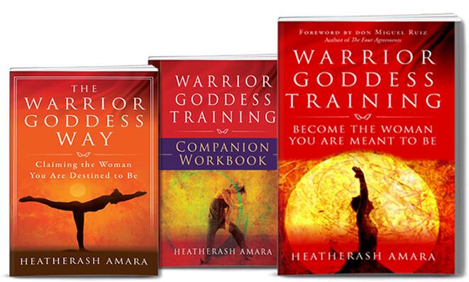 Warrior Goddess 3 Book Package