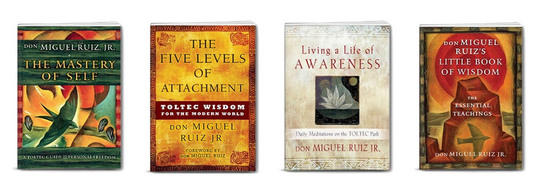 Toltec Wisdom - 4 Book Package