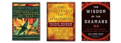 Toltec Wisdom - 3 Book Package