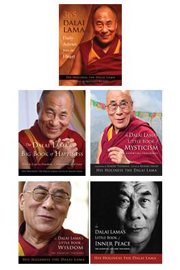 Dalai Lama 5 Book Package Special