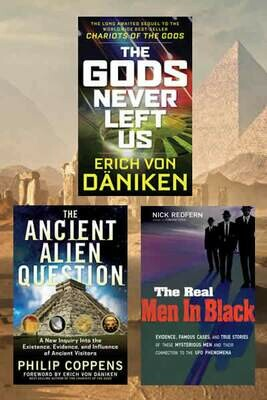 Ancient Aliens 3 Book Package Special
