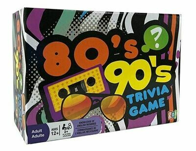80's, 90's, Trivia Game