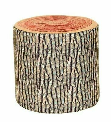 Cabin Log Stool