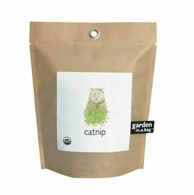 Catnip in a bag
