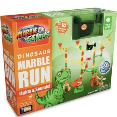 Dinosaur Marble Run 60 pcs