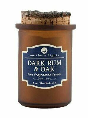 Dark Rum and Oak Candle