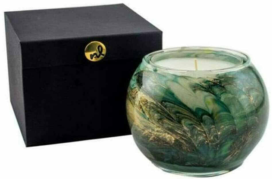 Evergreen Forest Globe Candle