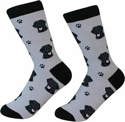 Black Labrador Socks
