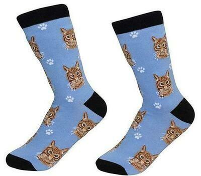 Yellow Cat Socks