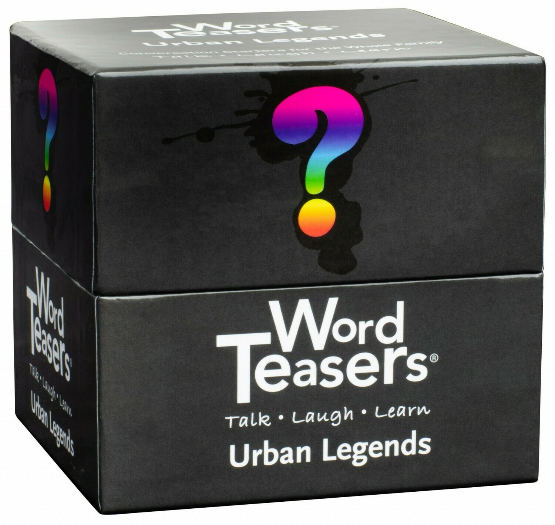 Word Teasers Urban Legends