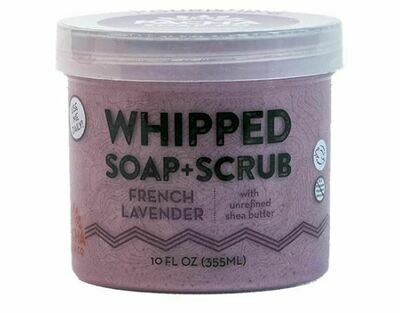 Whipped Soap French Lavender