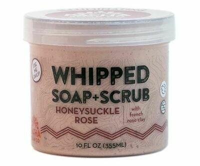 Whipped Soap Honeysuckle Rose