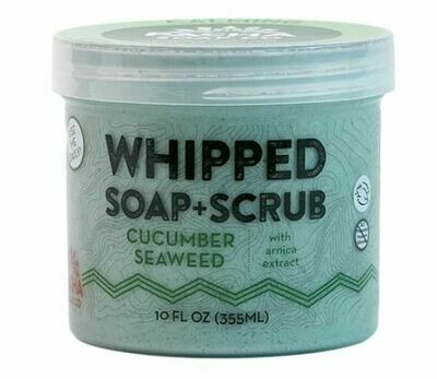 Whipped Soap Cucumber Seaweed