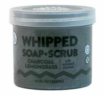 Whipped Soap Charcoal Lemongrass