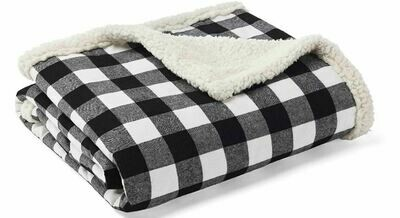 Black and White Fleece