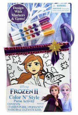 Frozen Color N' Style