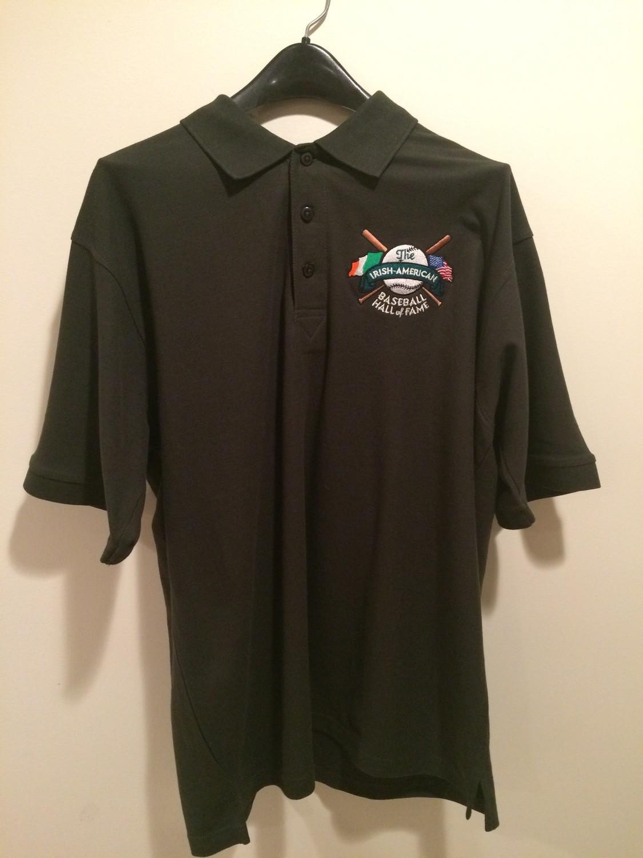 Irish American Baseball Hall of Fame Cotton Dark Green Polo by Ultra Club