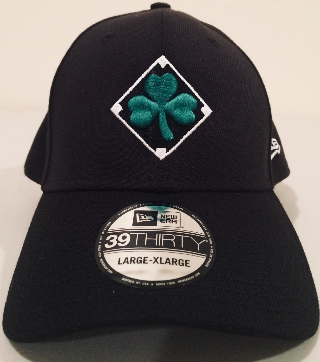 Shamrock Diamond Flexfit Cap with Irish Flag by New Era