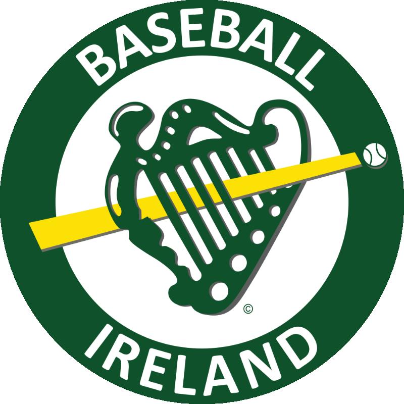 Baseball Ireland Jumbo Car Sticker IRLSTICKER013
