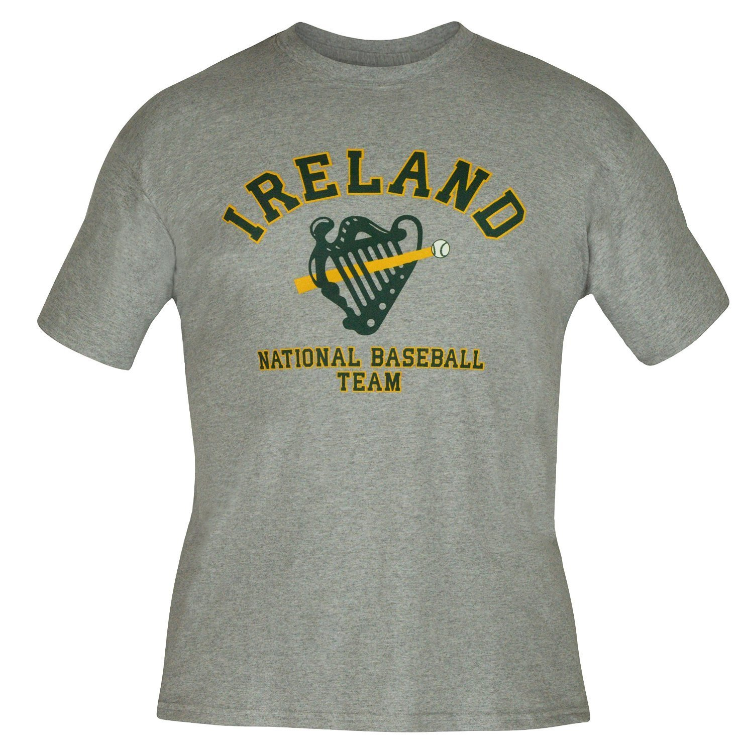 Ireland National Baseball Team Official Harp Logo T-shirt IRLTEE007