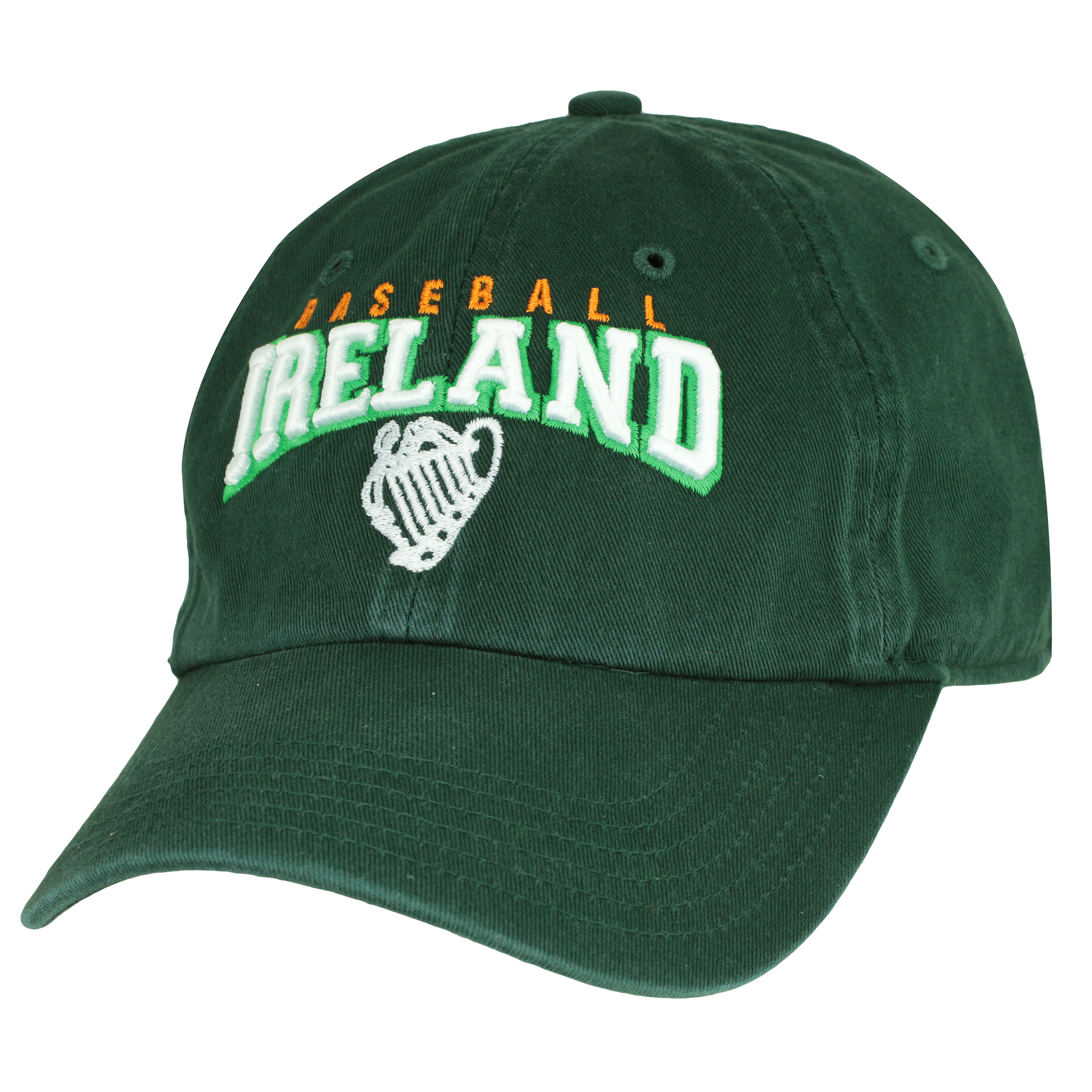 Ireland Baseball Cap with Adjustable Strap and Buckle BIADJCAP017