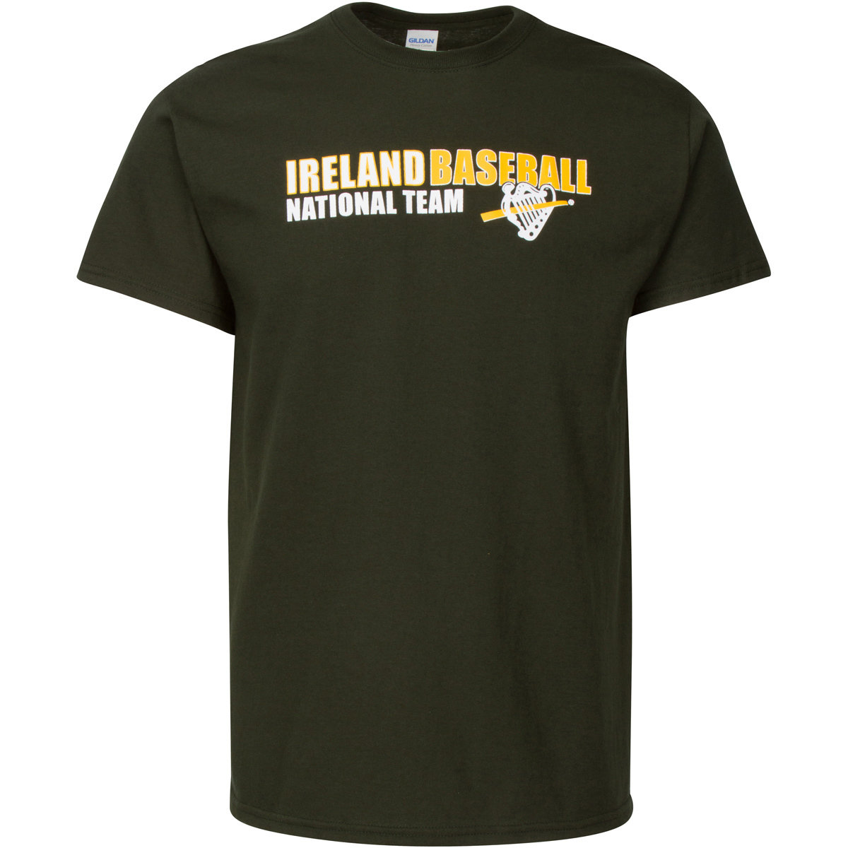 Ireland Baseball Dark Green T-shirt 00002