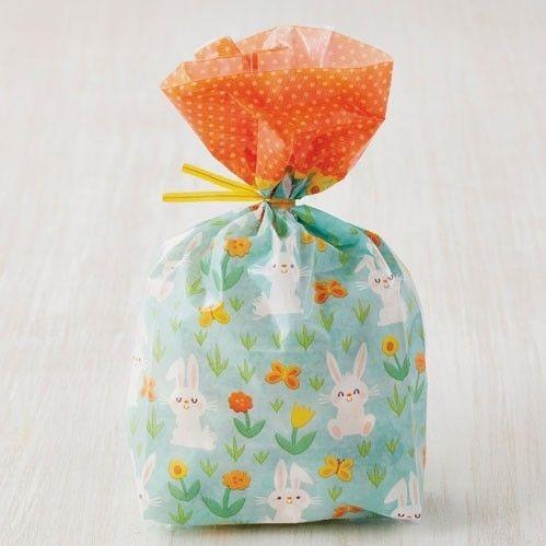 Wilton Easter Treat Bags -BUNNY -Τσαντούλες κουνελάκι για γλυκά & ζαχαρωτά 20 τμχ