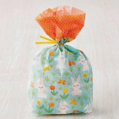 Wilton Treat Bags Bunny pack of 20 τσαντούλες κουνελάκι για γλυκά & ζαχαρωτά 10 x 5 x 24εκ