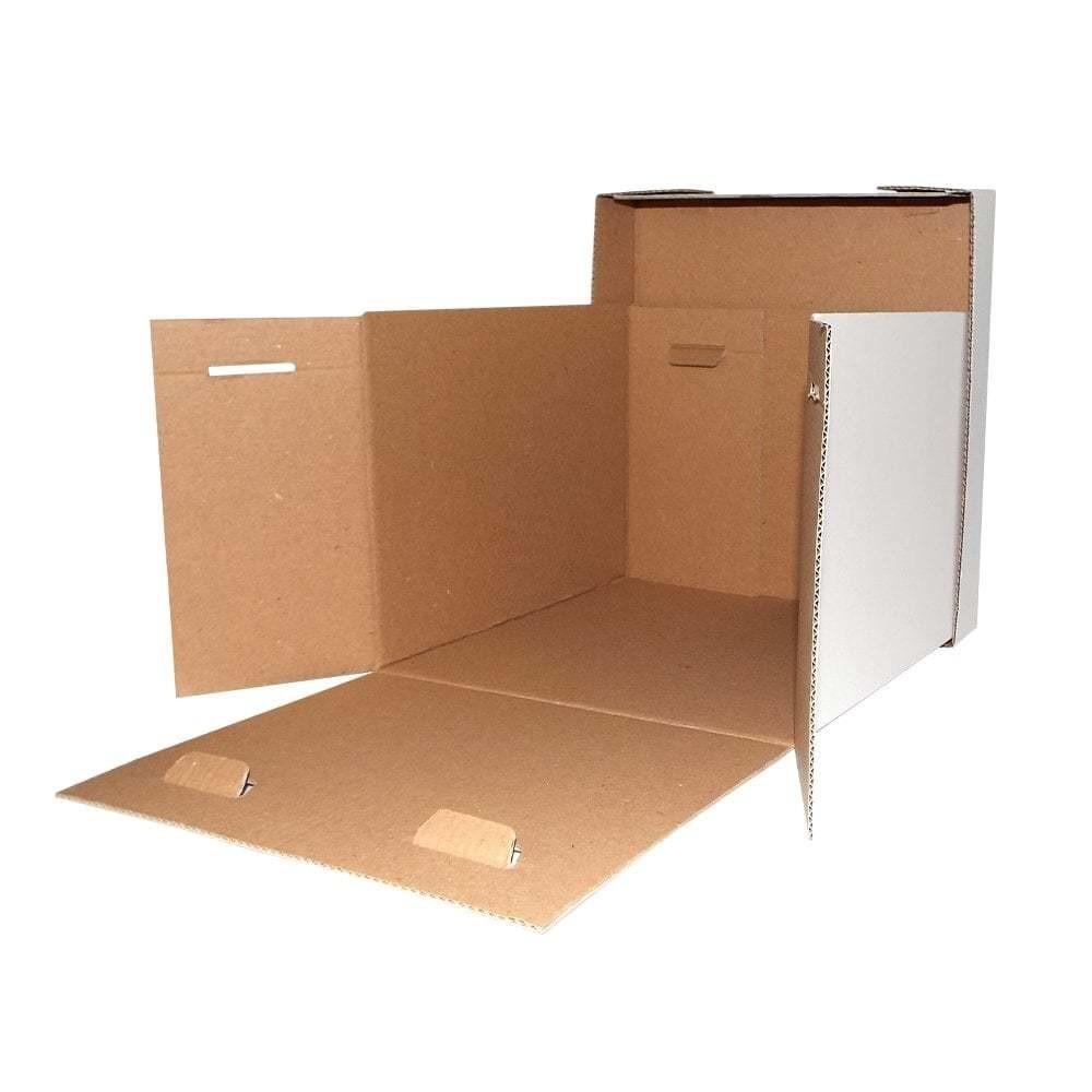 "HARD TALL CUBED BOX 40x40x40cm (16"") - Σκληρό Ψηλό Κουτί Κύβος 40x40x40εκ"