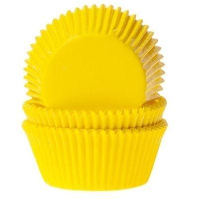 SALE!!! House of Marie Cupcake Cases YELLOW Pack of 50 -Θήκες Ψησίματος -ΚΙΤΡΙΝΟ 50 τεμ