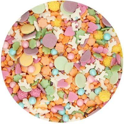 FunCakes Sprinkle Mix 180γρ -UNICORN MEDLEY -Κονφετί του Μονόκερου