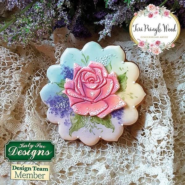Katy Sue Flexible Embosser Stamp -ROSES -Πατάκι σιλικόνης Τριαντάφυλλα