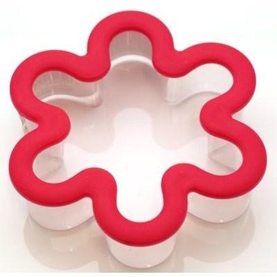 Wilton Plastic Grippy Cutter -FLOWER - Κουπάτ Λουλούδι με λαβή σιλικόνης 9εκ