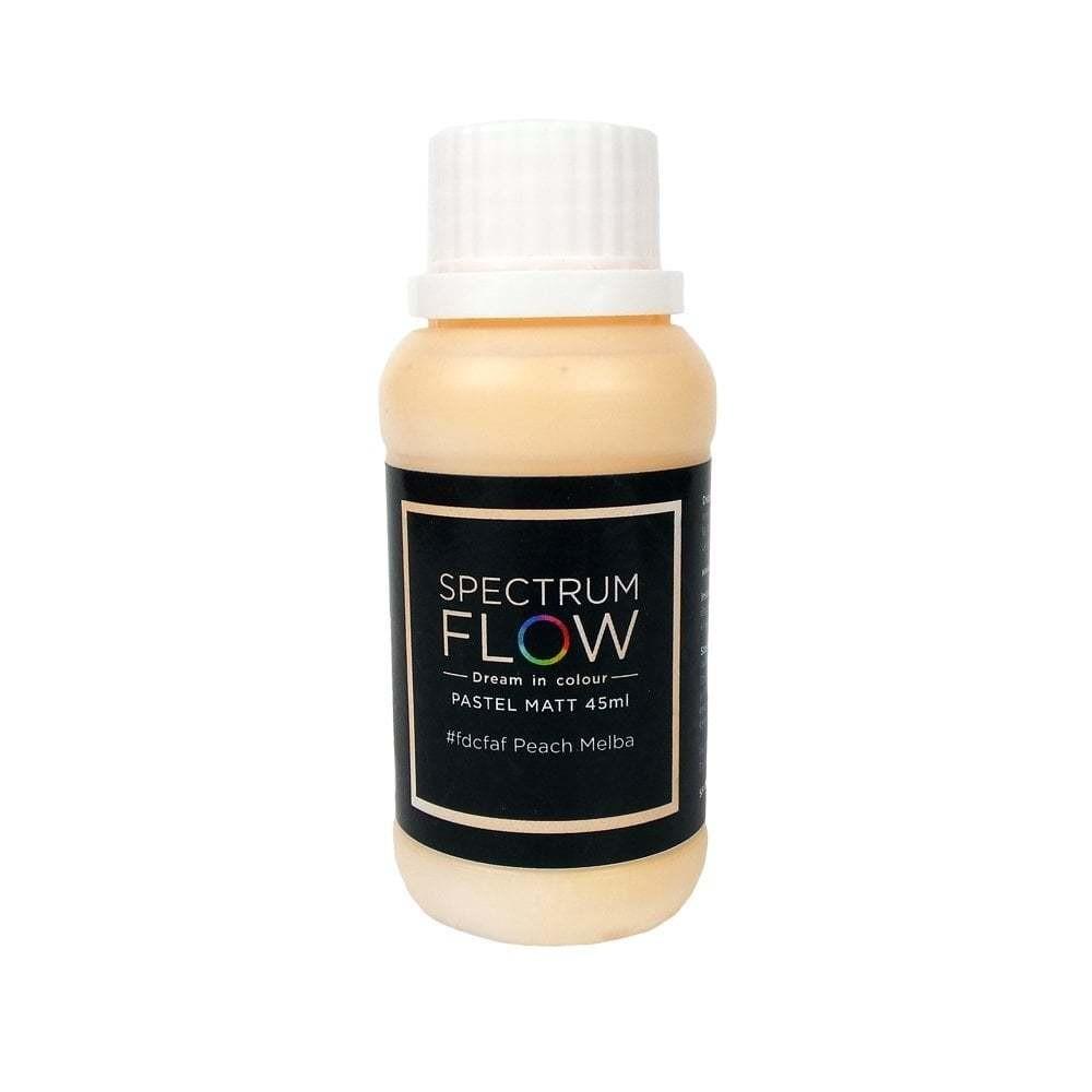 Spectrum Flow Edible Airbrush Paint -PASTEL MATT PEACH MELBA -Χρώμα Αερογράφου 45ml