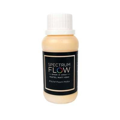 Spectrum Flow Edible Airbrush Paint 45ml PASTEL MATT PEACH MELBA -Χρώμα Αερογράφου