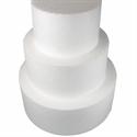 """Φελιζόλ Round Cake Dummy 25cm (10""""). (10cm high) -Στρογγυλό 25εκ."""