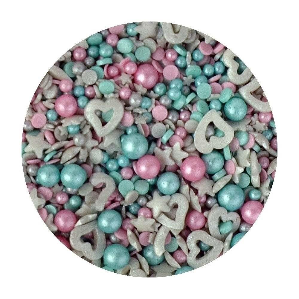 Sprinkletti Edible Sprinkles UNICORN  -Μείγμα Κονφετί  Μονόκερος-100γρ