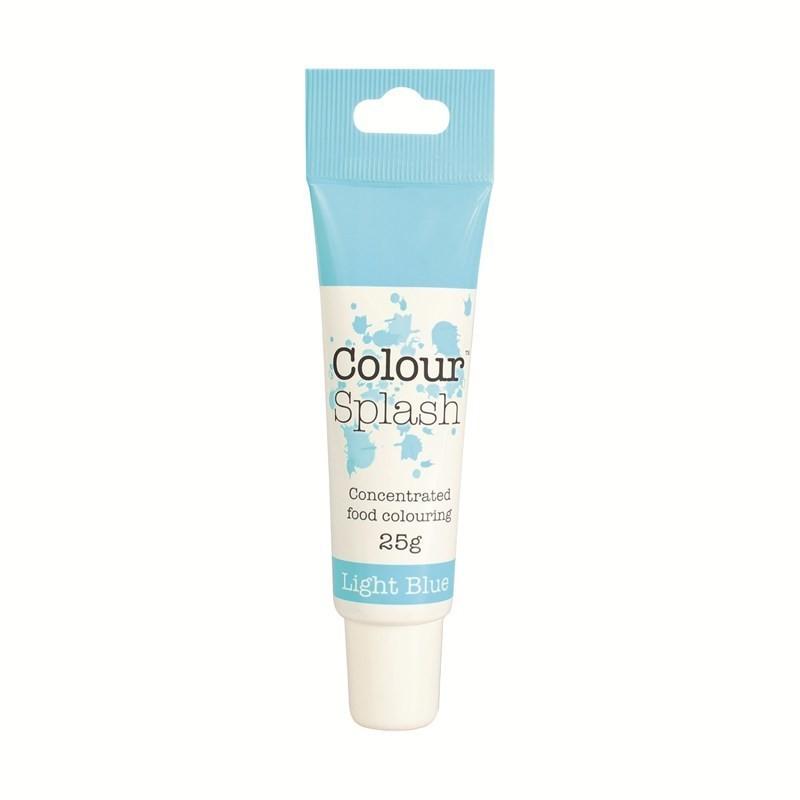 Colour Splash GEL -LIGHT BLUE -Χρώμα Πάστας 25γρ
