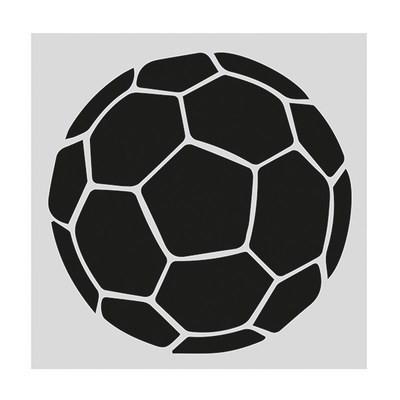 Cake Star Stencil -FOOTBALL -Στένσιλ Μπάλα ποδοσφαίρου